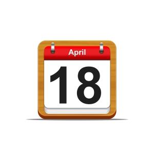 April 18 Image